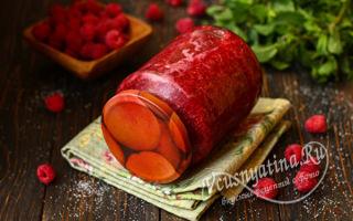 Толченая малина с сахаром без варки на зиму — простой и вкусный рецепт с пошаговыми фото