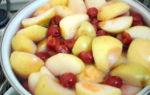 Компот из яблок белый налив без стерилизации на 3 литровую банку на зиму — вкусный рецепт с пошаговыми фото