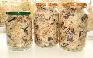 Баклажаны с майонезом на зиму — простой пошаговый рецепт