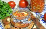 Салат из скумбрии с овощами на зиму — самые простые рецепты
