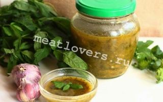 Соус из алычи к мясу на зиму — очень вкусный рецепт с пошаговыми фото