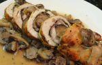 Рулетики с грибами: рецепты, фото, как приготовить куриные и свиные рулетики с грибами