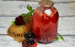 Компот из малины и черной смородины на зиму — рецепт приготовления с пошаговыми фото
