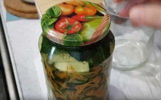 Салат на зиму из огурцов и моркови по-корейски — 5 рецептов с фото пошагово