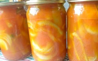 Лечо без моркови на зиму — простой пошаговый рецепт