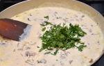 Рецепты пасты с опятами в сливочном соусе