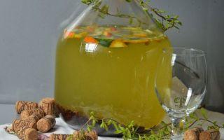 Березовый сок с изюмом на зиму — рецепт в домашних условиях в фото пошагово