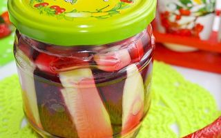 Салат из кабачков и свеклы на зиму — рецепт с пошаговыми фото