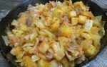 Капуста с белыми грибами: рецепт с фото для приготовления в тушеном и вареном виде