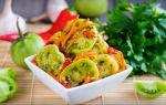 Зеленые помидоры на зиму в банке — 5 простых и вкусных рецептов с фото пошагово
