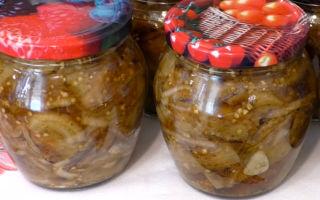 Баклажаны на зиму с приправой для шашлыка — рецепт приготовления с пошаговыми фото