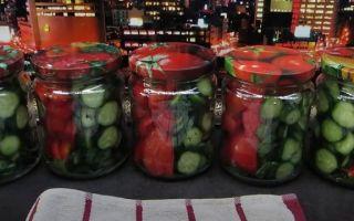 Салат из помидоров и огурцов в собственном соку на зиму — пошаговый рецепт с фото