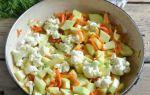Рагу из кабачков на зиму — простой пошаговый рецепт