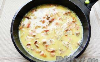 Рецепты омлетов с шампиньонами: как приготовить омлет с грибами, сыром, помидорами и другими ингредиентами