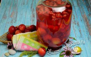 Компот из малины на зиму — 5 простых рецептов с фото пошагово