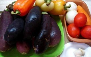 Салат из баклажанов на зиму «Тёщин язык» — рецепт с фото пошагово