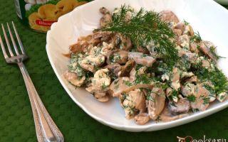 Грибы с мясом или курицей: рецепты с фото, как готовить грибы с мясом или курицей
