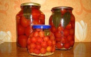 Сладкие маринованные помидоры с семенами горчицы на зиму — рецепт с пошаговыми фото