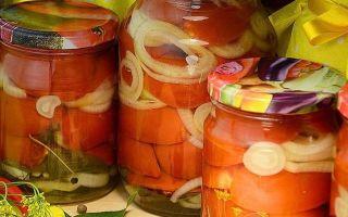 Жареные помидоры с базиликом на зиму — простой рецепт от автора пошагово