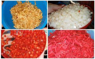 Салат из свеклы с чесноком на зиму — простой и вкусный рецепт с фото