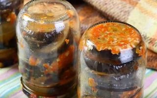 Соте из баклажанов по-грузински на зиму — рецепт с пошаговыми фото