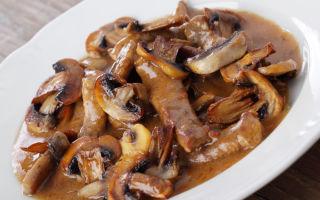 Мясо с грибами и перцем: рецепты приготовления вкусных и оригинальных грибных блюд