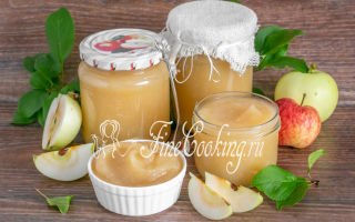 Пюре из груш и яблок без стерилизации на зиму — пошаговый рецепт с фото