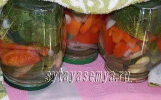 Резаные огурцы с чесноком в томатной заливке на зиму — 18 рецептов обалденных заготовок с пошаговыми фото