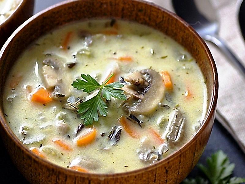 Суп из шампиньонов свежих рецепт с фото