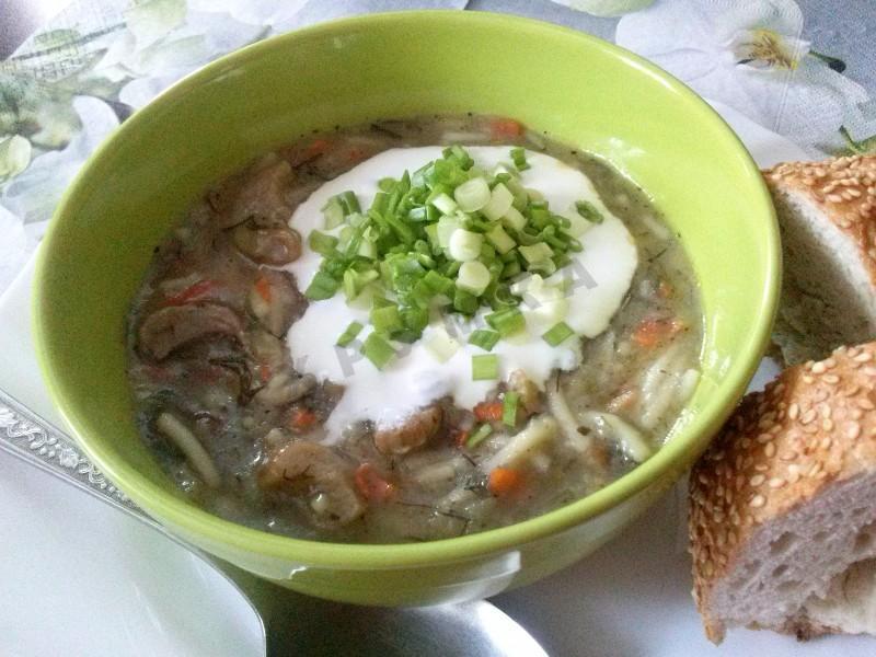 Как приготовить грибной суп из подосиновиков