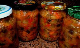 Соте из баклажанов с уксусом на зиму - рецепт приготовления с пошаговыми фото