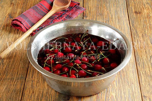 Джем из черешни на зиму - рецепт приготовления с пошаговыми фото