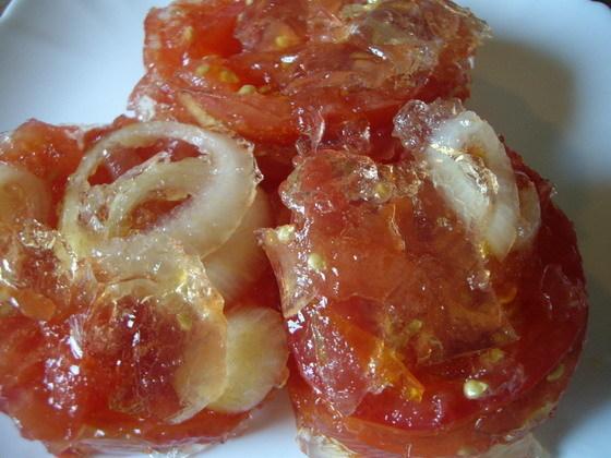 Огурцы и помидоры в желатине на зиму - рецепт с пошаговыми фото
