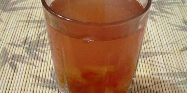 Компот из желтой сливы с косточками на зиму - простой пошаговый рецепт