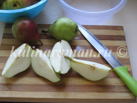 Грушевое варенье с лимоном на зиму - рецепт с пошаговыми фото