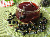 Желеобразное варенье из чёрной смородины пятиминутка на зиму - рецепт на зиму с пошаговыми фото