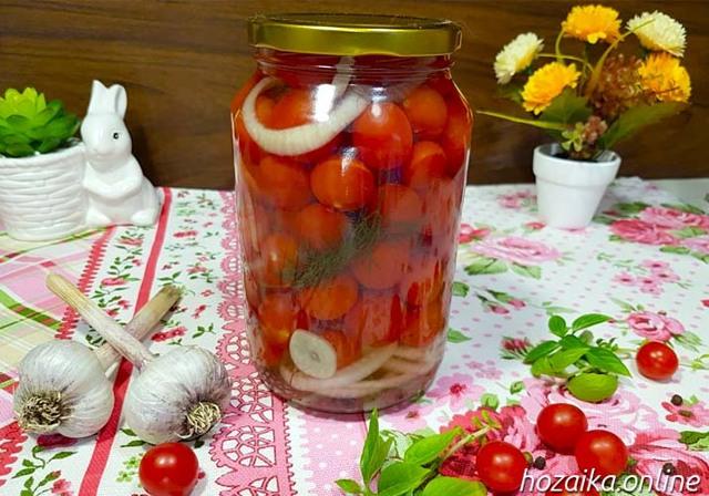 Помидоры черри на зиму - 17 рецептов самых вкусных с пошаговыми фото