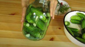 Огурцы соленые в банках на зиму - рецепт с пошаговыми фото