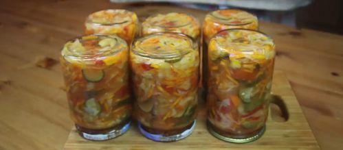 Салат на зиму из огурцов и капусты - 5 рецептов с фото пошагово