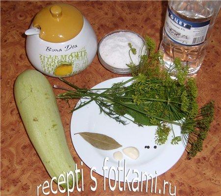 Маринованные кабачки на зиму без стерилизации - рецепт с пошаговыми фото