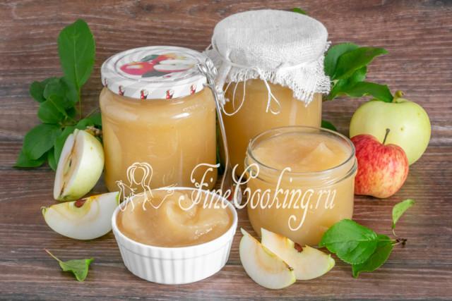 Пюре из груш и яблок без стерилизации на зиму - пошаговый рецепт с фото