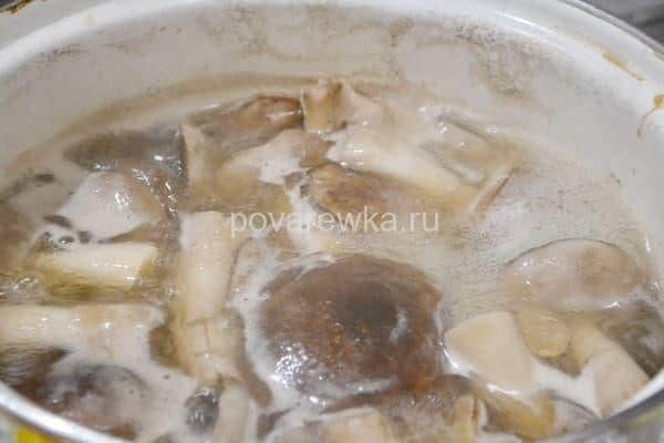 Маринованные боровики с 9% уксусом на зиму - рецепт с пошаговыми фото
