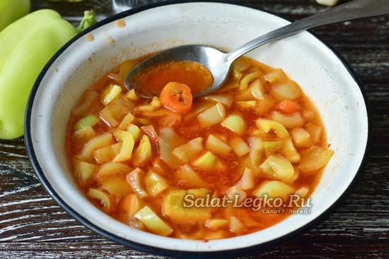 Салат «Глобус» с рисом на зиму - рецепт с пошаговыми фото