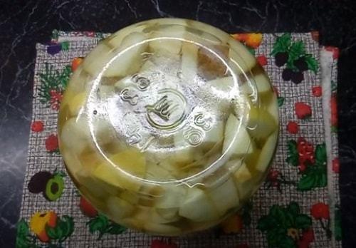 Компот из груши, яблок и абрикосов на зиму - простой рецепт от автора