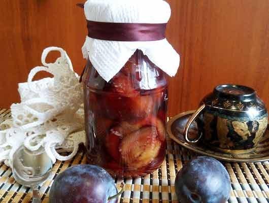Варенье из желтой сливы без косточек пятиминутка на зиму - 5 рецептов с фото пошагово
