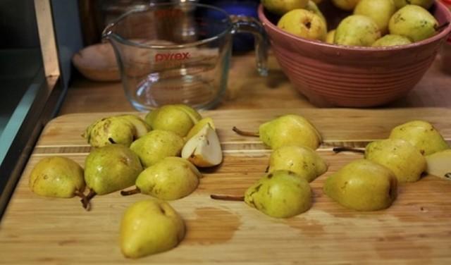Повидло из груши дички на зиму - простой пошаговый рецепт