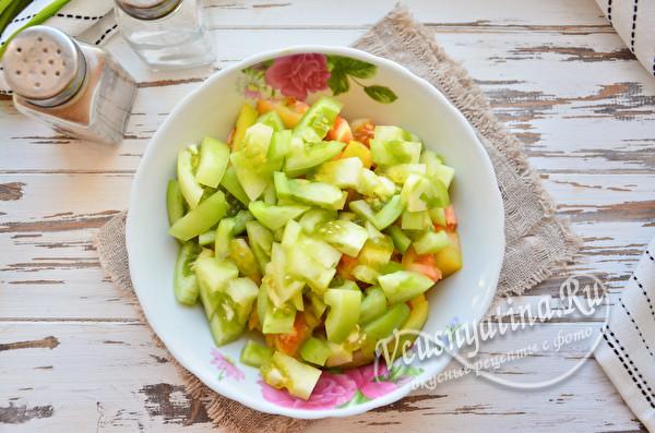 Лечо из зеленых помидоров на зиму - пошаговый рецепт с фото