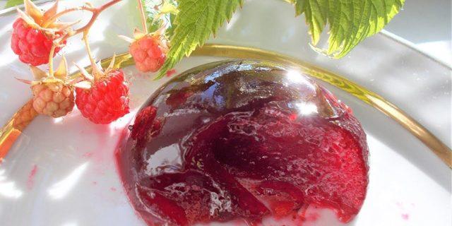 Желе из малины с желатином на зиму - 6 рецептов простых и вкусных с пошаговыми фото