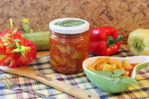 Лечо из кабачков, болгарского перца и помидоров на зиму - рецепт приготовления с пошаговыми фото