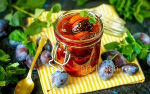 Варенье из сливы без косточек на зиму - рецепт приготовления с пошаговыми фото
